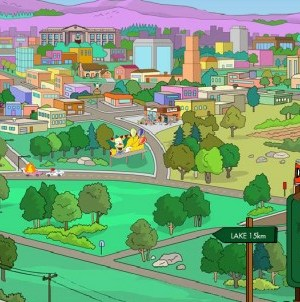 springfield simpson in Oregon