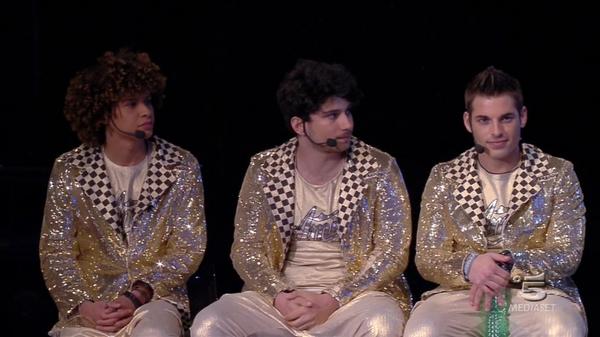 Tre finalisti canto