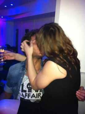 Uomini e donne Manfredi Ferlicchia bacia Manila Gorio