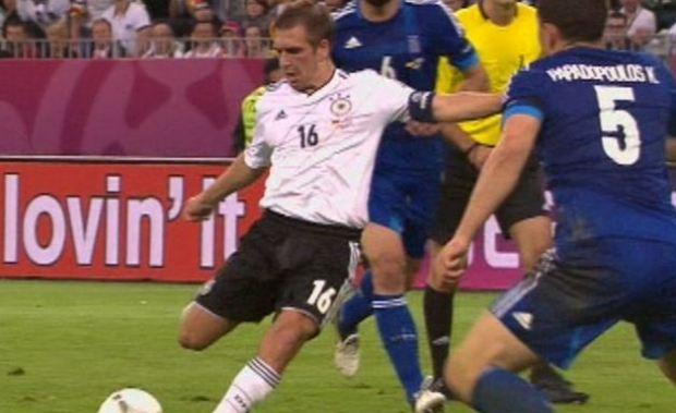 La partita Germania-Grecia vince la serata