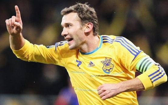 Andriy Shevchenko, attaccante