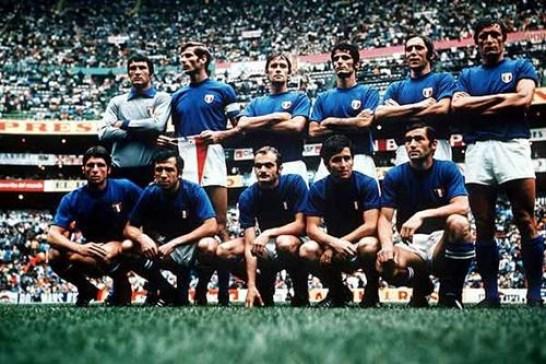 L'Italia vince gli europei solo nel 1968 con Riva e Rivera