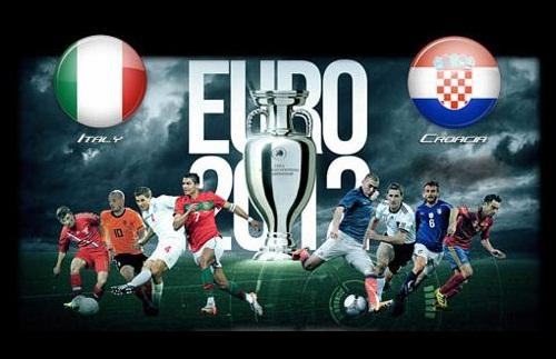 Foto Italia - Croazia Euro 2012