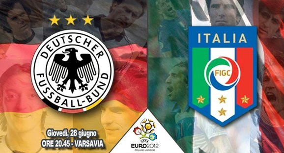 Italia-Germania Diretta Tv