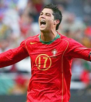 Cristiano Ronaldo, attaccante