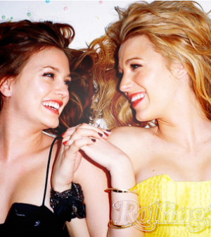 serena e blair addio a gossip girl