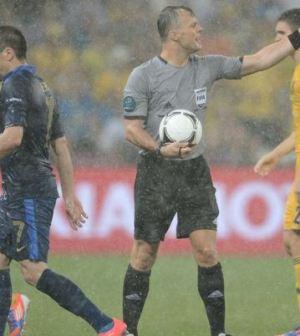 Foto Ucraina-Francia temporale euro 2012