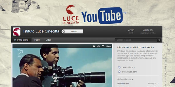 istituto luce canale youtube