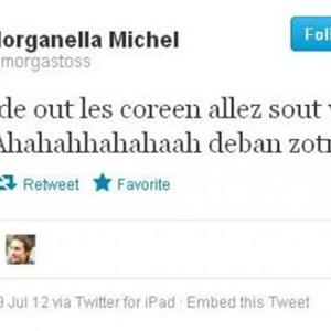 olimpiadi londra 2012 squalifica morganella michel tweet razzista