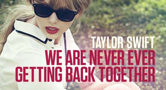 We are never getting back together