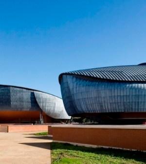 foto dell'auditorium parco della musica a roma