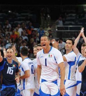 Foto nazionale italiana Pallavolo Olimpiadi Londra 2012