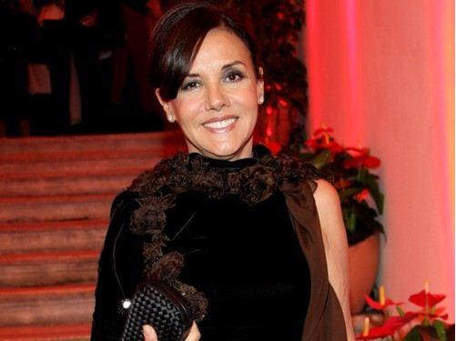 Foto di patrizia mirigliani patron di Miss Italia