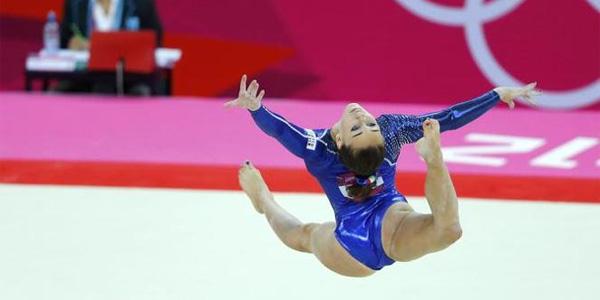 vanessa ferrari olimpiadi londra 2012 ginnaste mtv esibizione ginnastica artistica