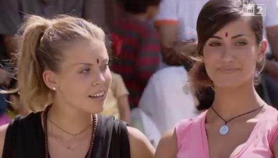Foto de Le Veline eliminate a Pechino Express