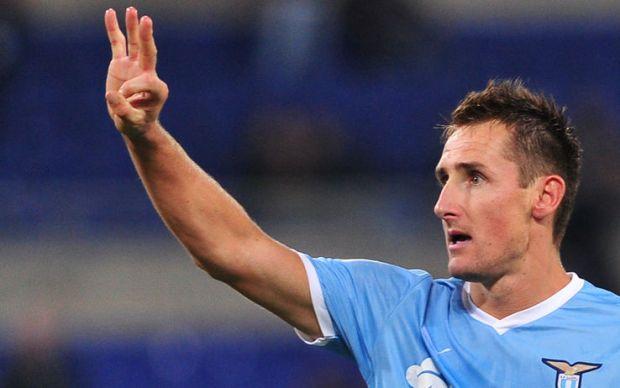 Miroslav Klose attaccante Lazio