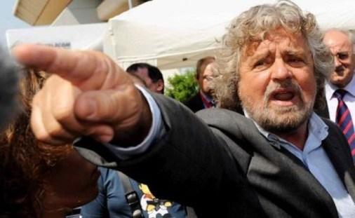 Beppe Grillo contro le ospitate tv