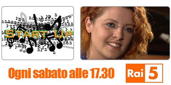 start up rai5 musica logo noemi