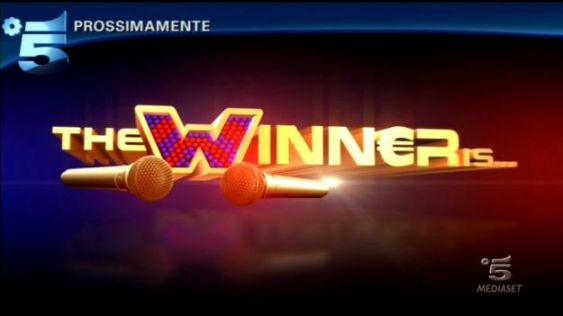 Logo di The Winner is dal 17 novembre su Canale 5