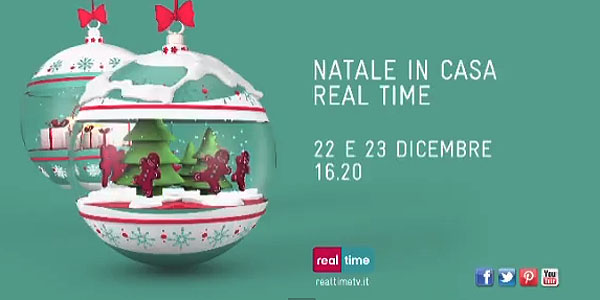 natale in casa real time spot
