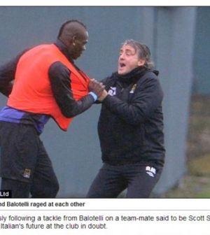 Rissa tra Balotelli e Mancini
