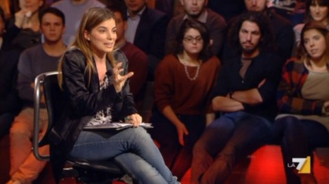 """Giulia Innocenzi su Servizio pubblico: """"Berlusconi ha sbagliato"""""""