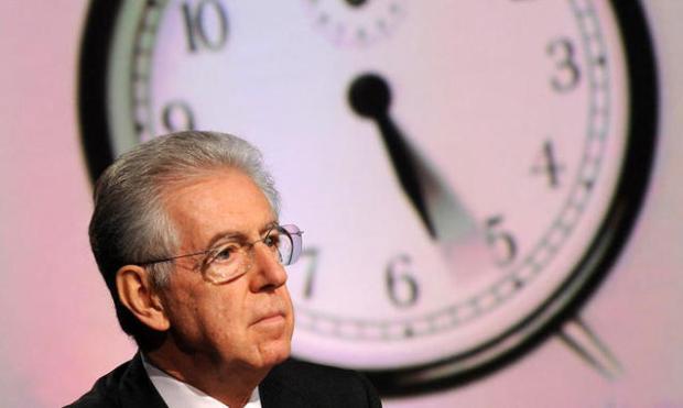 Mario Monti il più presente in tv
