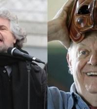 Beppe Grillo vuole Dario Fo come presidente