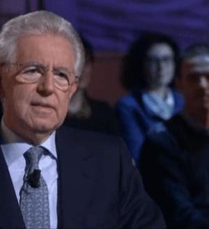 Mario Monti ospite a Le Invasioni Barbariche