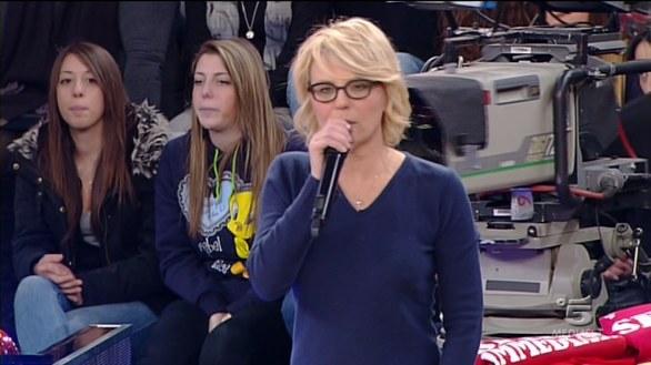 Foto di Maria De Filippi conduttrice tv