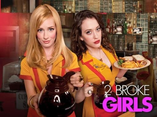2 Broke Girl serie tv su Italia1