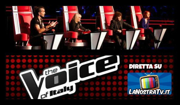 Foto di The Voice of Italy talent show