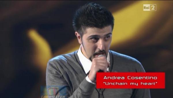 Foto di Andrea Cosentino The Voice of Italy