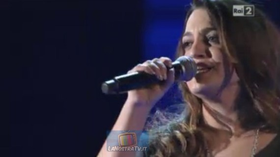 Foto di Claudia D' ulisse a The Voice of italy