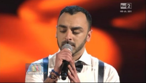 Foto di Daniele The Voice of Italy