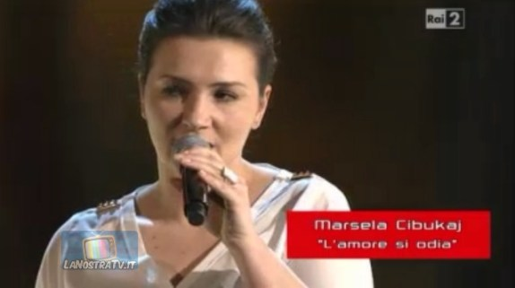 Foto di Marsela Cibukaj The Voice