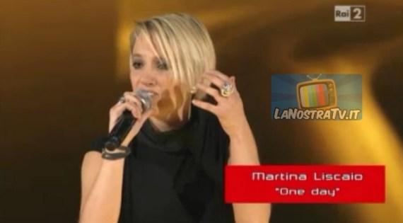 Foto di Martina a The Voice of Italy