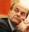 Il segretario del PD Pierluigi Bersani