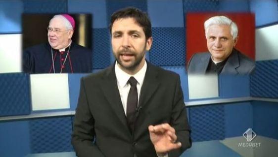 Foto servizio pedofili nella Chiesa a Le Iene Show