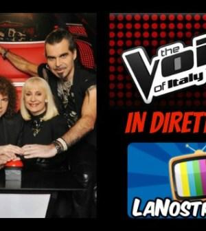 Foto di The Voice of Italy diretta prima puntata