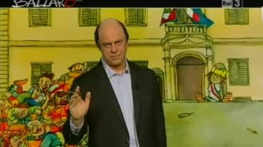 Maurizio Crozza a Ballarò imita Bersani