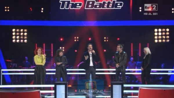 Foto dei giudici The Voice of italy