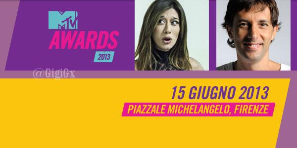 mtv awards 2013 conduttori 15 giugno firenze