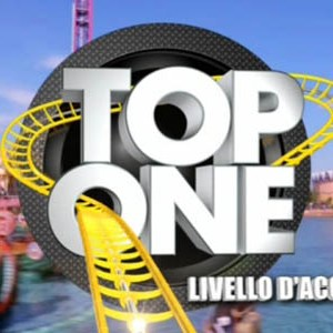 top one logo italia1 enrico papi