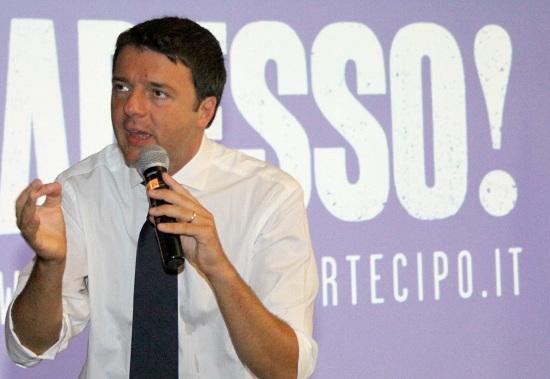 Renzi critica i vertici del Pd