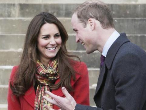 il principe william e la consorte kate middleton
