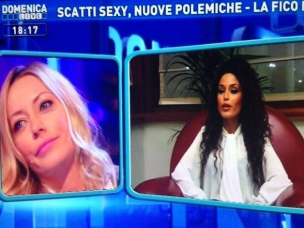 Karina Cascella e Raffaella Fico