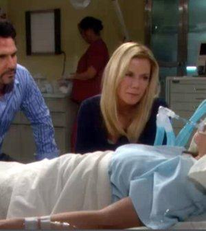 Katie in ospedale