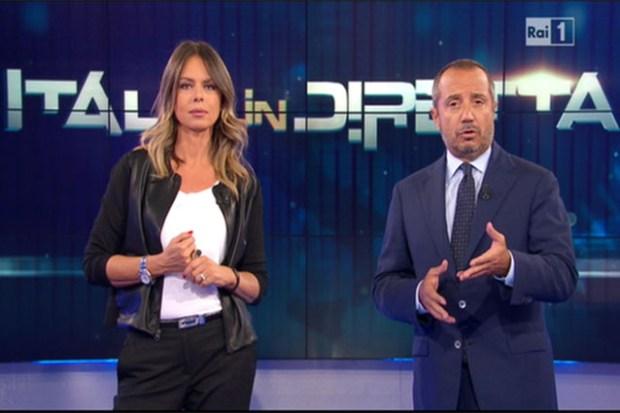 Franco Di Mare e Paola Perego