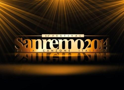 foto del logo di sanremo 2014